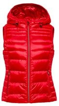 ESPRIT 078ee1h001, Gilet da Esterno Donna, Rosso (Red 630), X-Small