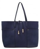 VULCAN - Shopping bag - navy