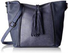 Bulaggi Jayda Hobo - Borse a spalla Donna, Blu (Dunkel Blau), 25x12x26 cm (B x H T)