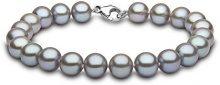 Kimura Pearls FINENECKLACEBRACELETANKLET, Oro bianco 9 ct, oro 9 ct bianco, 8 mm