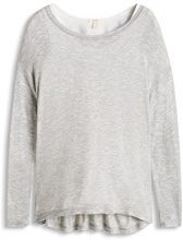 ESPRIT 026EE1K017 Double Tee-Top Donna, Grau (LIGHT GREY 5 044), Small