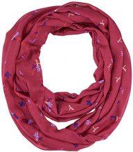 s.Oliver 39712913894, Sciarpa Donna, Viola (Purple/Pink AOP 46A1), Taglia unica