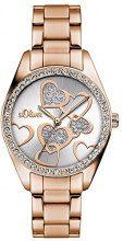 s.Oliver SO-3140-MQ - Orologio da polso Da Donna, Acciaio inossidabile