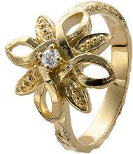Orphelia dreambase-anello 925 argento e zirconi bianchi, Argento, 12, colore: 18 Karat Gold Plated, cod. ZR-3946/1/52