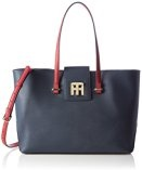 Tommy HilfigerTH TWIST MEDIUM TOTE COLOURBLOCK - Borsa shopper Donna