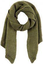PIECES Pcdace Long Wool Scarf Noos, Blazer Donna, Verde (Winter Moss Winter Moss), Taglia unica
