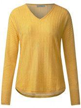 Cecil 300483, Maglione Donna, Giallo (Golden Lemonade 21197), X-Small