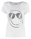 NMJANA  - T-shirt con stampa - bright white