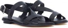 Sandalo Michael Kors Mackay in pelle nera