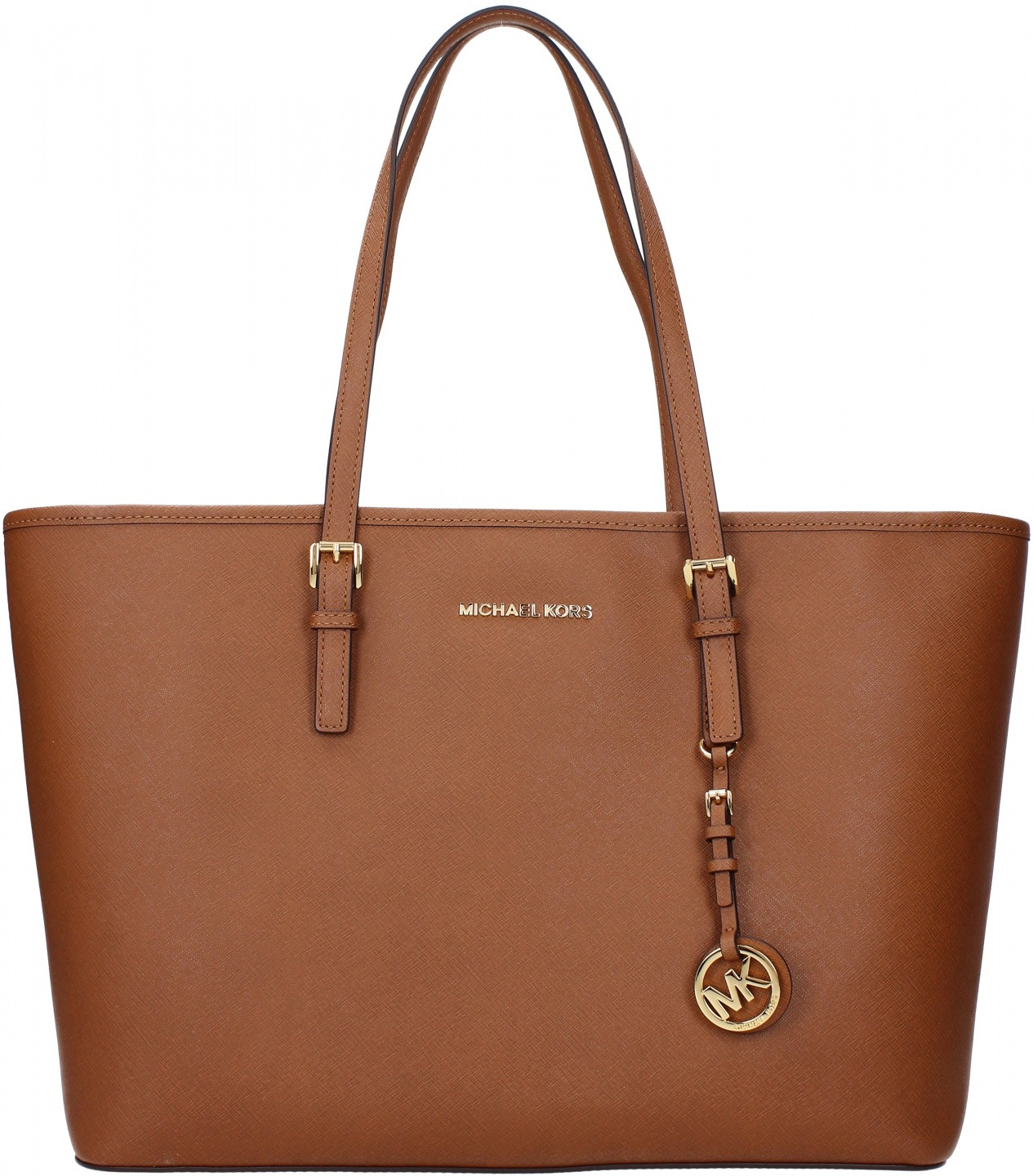 4b6eacf791 Borse a Spalla Michael Kors jet set travel md Donna Marrone | Bantoa
