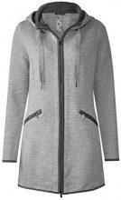 Street One 210730, Cappotto Donna, Grau (Moon Grey Melange 11423), 40