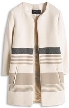 ESPRIT Collection Baumwoll-Mix Qualität-Giubbotto Donna Beige (BEIGE 270) 46