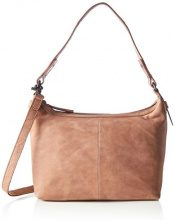Spikes & Sparrow Zip Bag - Borse a tracolla Donna, Braun (Cognac), 7x25x28 cm (B x H T)