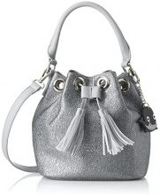 Tosca Blu Diamond - Borse a secchiello Donna, Silber (Silver), 13x20.5x19.5 cm (B x H T)