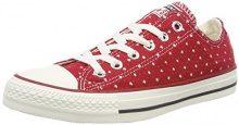 Converse Ctas Ox, Sneaker Unisex-Adulto, Rosso (Gym Red/Garnet/Athletic Navy 688), 41 EU