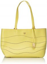 Piero Guidi Magic Circus Cherie Leather Sunlight Borsa Tote, 35 cm, Girasole