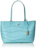 Piero Guidi Magic Circus Cherie Leather Sunlight Borsa Tote, 35 cm, Cielo