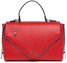REPLAY Fw3748.000.a0362 - Borsa Donna, Rosso (Blood Red), 11x20x30,5 cm (B x H T)