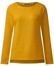 Cecil 311786, Felpa Donna, Giallo (Golden Lemonade 11197), Small