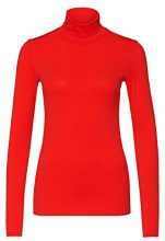 Marc Cain Essentials - MarcCainDamenT-Shirts+E4854J03, t-shirt Donna, Rot (scarlet 272), 44 (6)