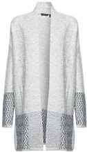ESPRIT Collection 107eo1i033, Cardigan Donna, Grigio (Light Grey 5 044), Small