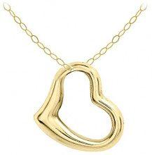 Carissima Gold Collana da Donna in Oro Giallo 9K, Catena di Traccia, 46 cm