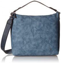 Tom Tailor Acc Jessy Borsa a tracolla donna, 13x 30x 36cm, blu (blu (blu)), 13x30x36 cm (B x H x T)