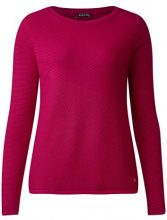 Street One 300327 Robby, Maglione Donna, Rosa (Funky Pink 11019), 40 (Taglia produttore: 34)
