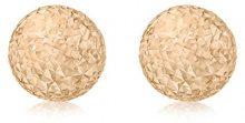 Carissima Gold Orecchini a Lobo da Donna in Oro Rosa 9K (375)