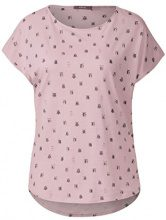 Cecil 311947, T-Shirt Donna, Rosa (Soft Blossom 31216), S