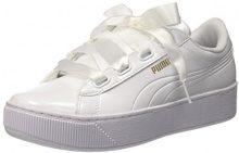 Puma Vikky Platform Ribbon P, Sneaker Basse Donna, Bianco White, 36 EU