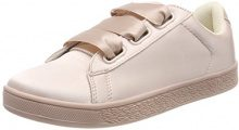 BIANCO Satin Sneaker, Donna, Beige (Powder 29), 36 EU