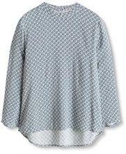 ESPRIT 116EE1F012, Camicia Donna, Multicolore (Off White), 40