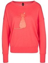 Marc Cain Collections KC 41.30 M50, Maglione Donna, Mehrfarbig (Coral 221), 44