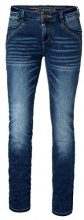Timezone Seratz, Jeans Slim Donna, Blau (Atlantic Blue Wash 3181), 40 IT (26W/30L)