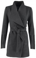 VMCALA - Cappotto corto - dark grey melange/black