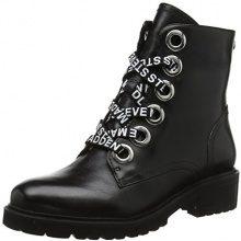Steve Madden Lindia Ankleboot, Stivaletti Donna, Nero (Black Leather 017), 38 EU