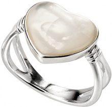 Elements Silver Donna 925 argento Cuore bianco Madreperla