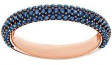 Anello Stone Mini, azzurro, placcato oro rosa