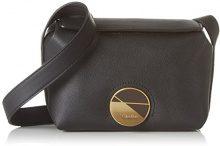 Calvin Klein Jeans K60K602422, Borsa a Tracolla Donna, Nero (Black), 9 x23 x14 cm (B x H x T)