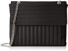 PIECES Pcgigi Cross Body - Borse a tracolla Donna, Nero (Black), 6x15x23 cm (B x H T)