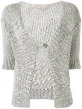 - Blanca - Cardigan con maniche a 3/4 - women - viscose/Polyester - 46, 50 - di colore grigio