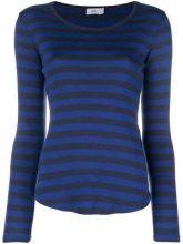 - Closed - striped T - shirt - women - cotone/modal - L - di colore blu