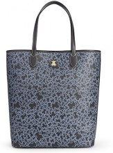 Tous Shopping grande Kaos Mini - Borse a spalla Donna, Blu (Marino)