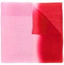 - Emporio Armani - transparency scarf - women - lana/seta Mulberry - Taglia Unica - di colore rosso