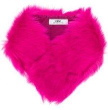 - Desa 1972 - Stola in pelliccia - women - fibra sintetica/shearling - Taglia Unica - di colore rosa