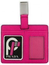 - Prada - luggage tag - women - pelle - Taglia Unica - di colore rosa