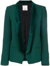 - Pinko - tuxedo blazer - women - fibra sintetica - 44, 42, 38, 40, 46 - di colore verde