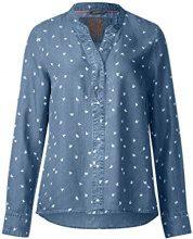 Street One 340799, Blusa Donna, Blu (Blue Laser Print Wash 11328), 50