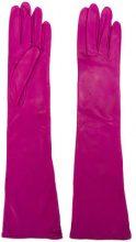 - Erika Cavallini - long gloves - women - pelle - Taglia Unica - di colore rosa